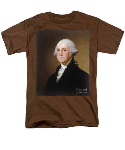 George Washington Men's T-Shirt  (Regular Fit) by Gilbert Stuart