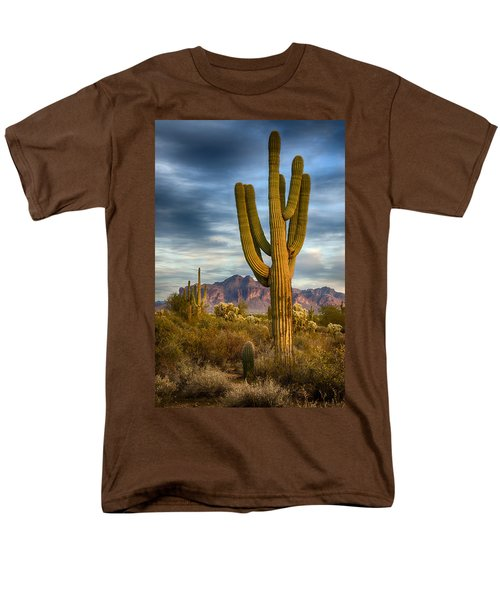 Standing Tall  Men's T-Shirt  (Regular Fit) by Saija  Lehtonen