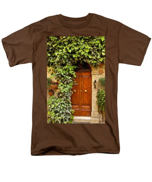 Tuscan Door Men's T-Shirt  (Regular Fit) by Brian Jannsen
