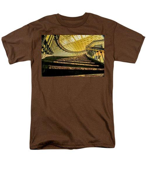Union Station Washington Dc Men's T-Shirt  (Regular Fit) by Alex Grichenko