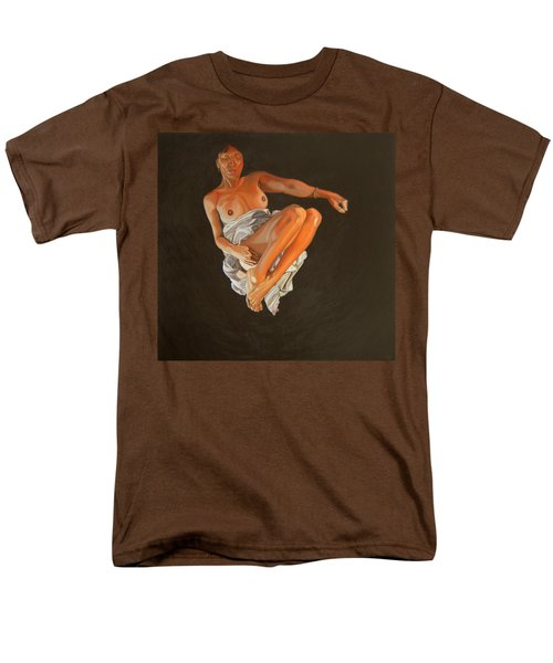 Men's T-Shirt  (Regular Fit) featuring the painting 4 30 Am by Thu Nguyen