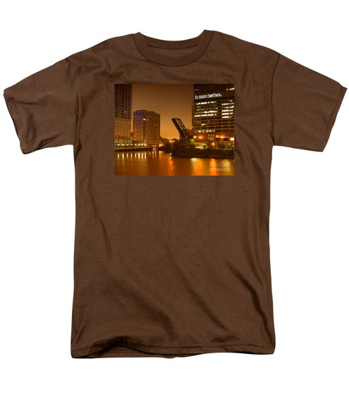 Chicago Men's T-Shirt  (Regular Fit) by Miguel Winterpacht