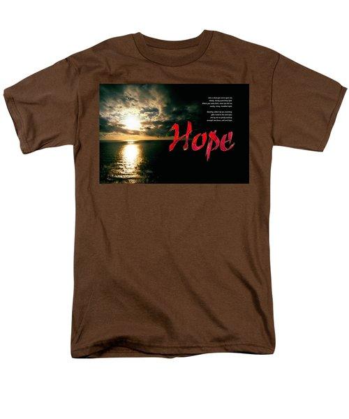 Hope Men's T-Shirt  (Regular Fit) by Chuck Mountain
