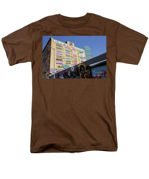 5 Pointz Graffiti Art 2 Men's T-Shirt  (Regular Fit) by Allen Beatty