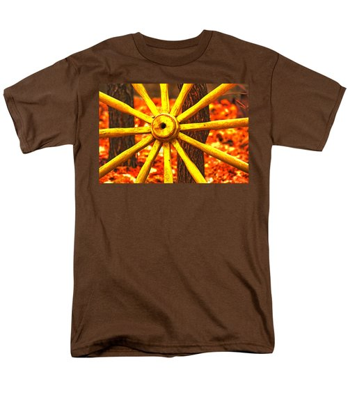 Wheels Of Time Men's T-Shirt  (Regular Fit) by Rowana Ray