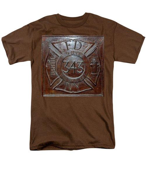 9 11 01 F D N Y 343 Men's T-Shirt  (Regular Fit) by Rob Hans
