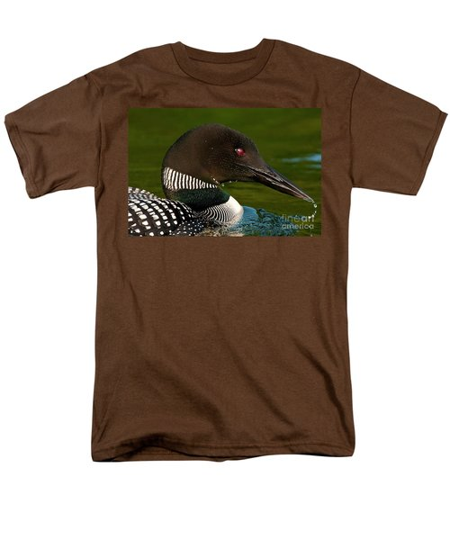 Common Loon Men's T-Shirt  (Regular Fit) by Michael Cummings