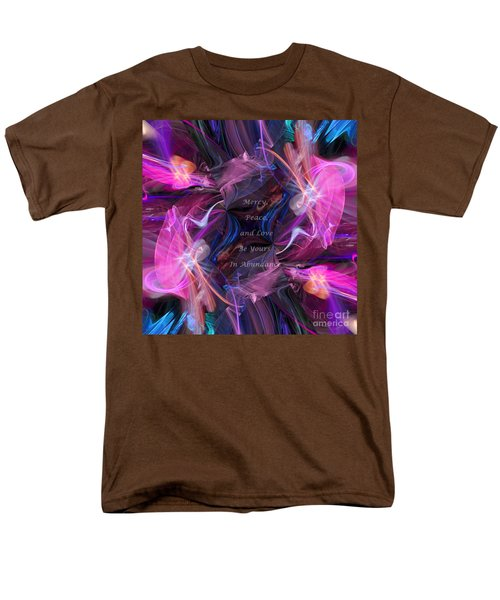 Men's T-Shirt  (Regular Fit) featuring the digital art A Blessing by Margie Chapman
