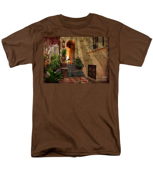 Men's T-Shirt  (Regular Fit) featuring the photograph A Charleston Garden by Kathy Baccari
