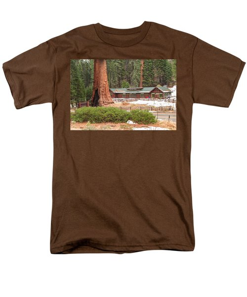A Giant Among Trees Men's T-Shirt  (Regular Fit) by Muhie Kanawati