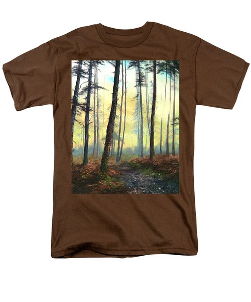A Lovely Walk On Cannock Chase Men's T-Shirt  (Regular Fit) by Jean Walker