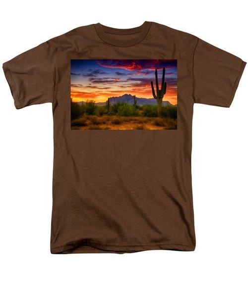 A Painted Desert  Men's T-Shirt  (Regular Fit) by Saija  Lehtonen