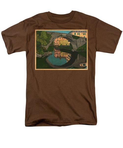 A River Men's T-Shirt  (Regular Fit) by Meg Shearer