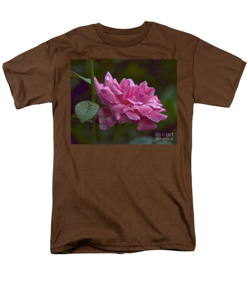 Men's T-Shirt  (Regular Fit) featuring the photograph A Rose Is A Rose by Carol  Bradley