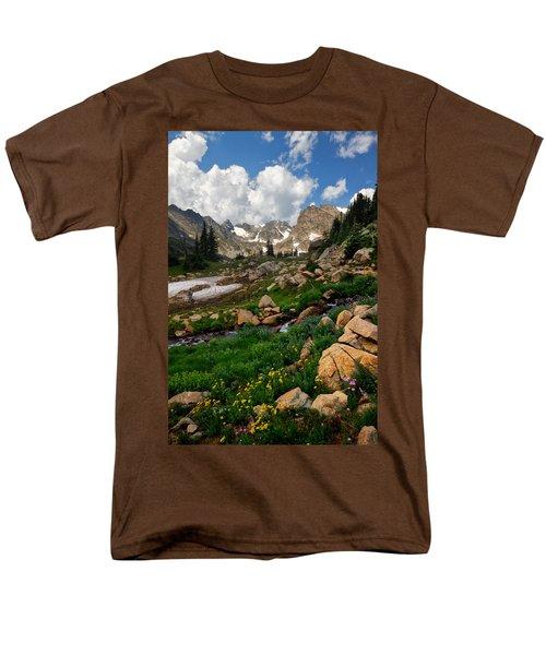 Men's T-Shirt  (Regular Fit) featuring the photograph A Stream Runs Through It by Ronda Kimbrow