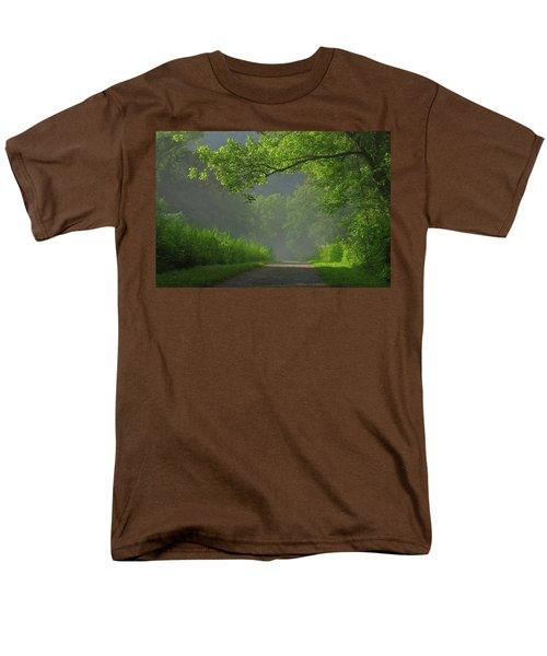 A Touch Of Green Men's T-Shirt  (Regular Fit)