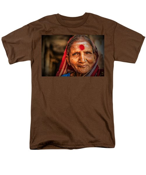 A Woman Of Faith Men's T-Shirt  (Regular Fit) by Valerie Rosen