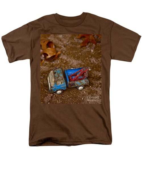 Men's T-Shirt  (Regular Fit) featuring the photograph Abandoned Truck by Xn Tyler