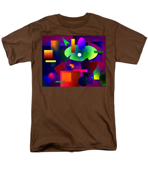 Abstract 74 Men's T-Shirt  (Regular Fit) by Timothy Bulone