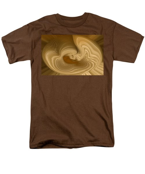 Men's T-Shirt  (Regular Fit) featuring the photograph Abstract Design by Charles Beeler