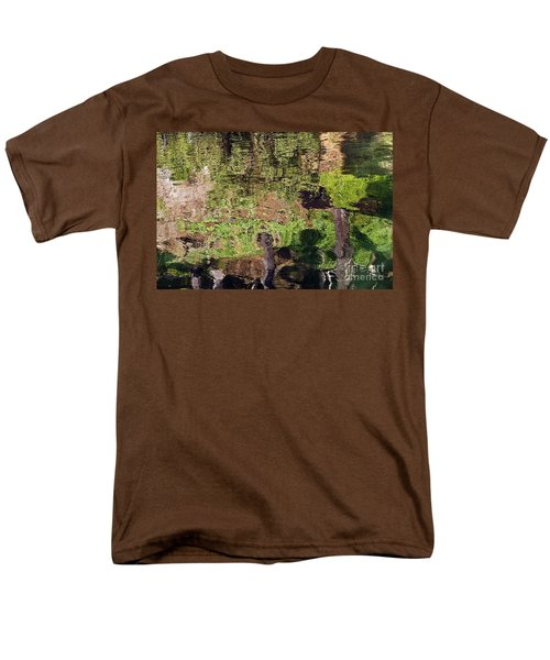 Men's T-Shirt  (Regular Fit) featuring the photograph Abstracted Reflection by Kate Brown