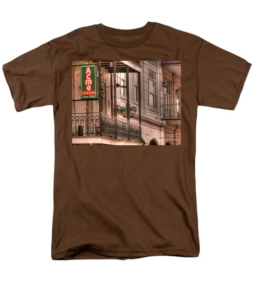 Acme Oyster House Men's T-Shirt  (Regular Fit) by David Bearden
