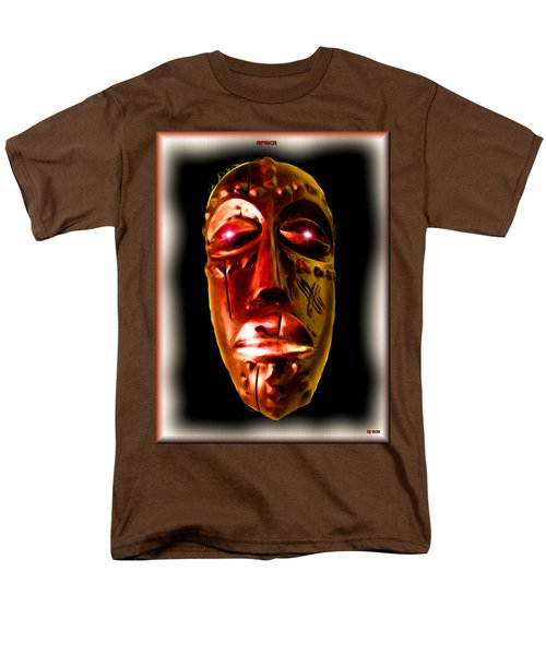 Men's T-Shirt  (Regular Fit) featuring the digital art Africa by Daniel Janda