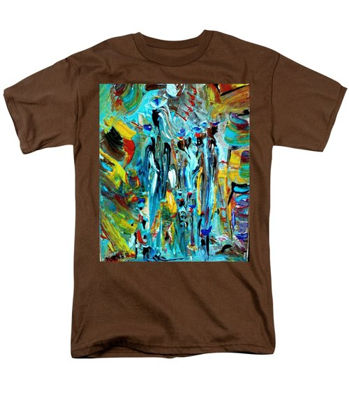 African Tribe Festivals Men's T-Shirt  (Regular Fit) by Kelly Turner