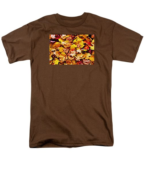 Men's T-Shirt  (Regular Fit) featuring the photograph After The Fall by Daniel Thompson
