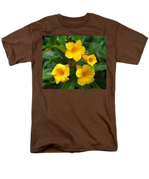 Allamanda Men's T-Shirt  (Regular Fit) by Ron Davidson