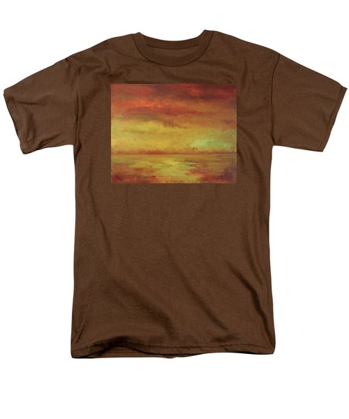 Men's T-Shirt  (Regular Fit) featuring the painting Allegro by Mary Wolf