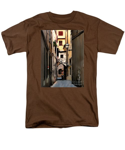 Alley In Florence 1 Men's T-Shirt  (Regular Fit) by Jennie Breeze