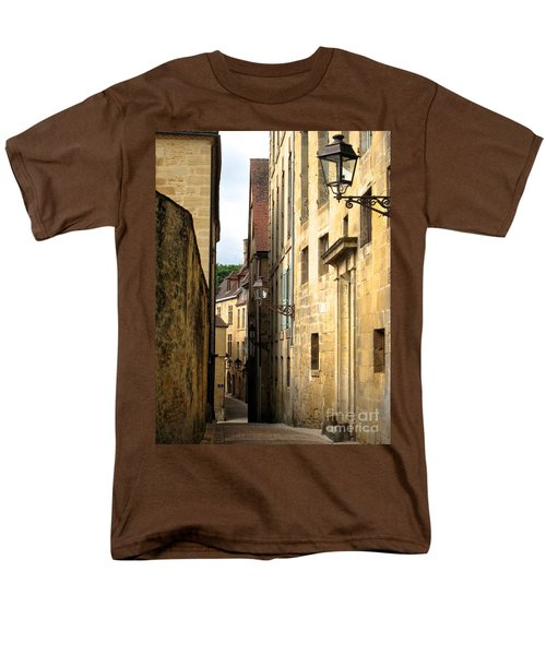 Alleys Of Sarlat Men's T-Shirt  (Regular Fit) by Suzanne Oesterling