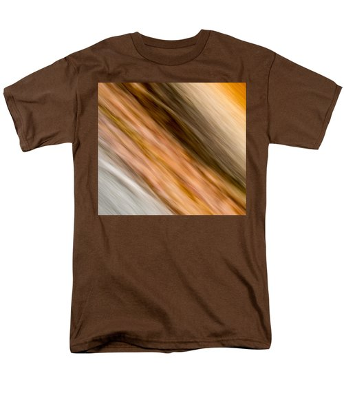Men's T-Shirt  (Regular Fit) featuring the photograph Amber Diagonal by Darryl Dalton