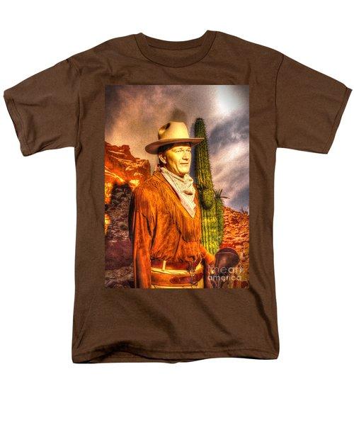 American Cinema Icons - The Duke Men's T-Shirt  (Regular Fit) by Dan Stone