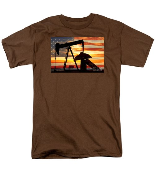 American Oil  Men's T-Shirt  (Regular Fit) by James BO  Insogna