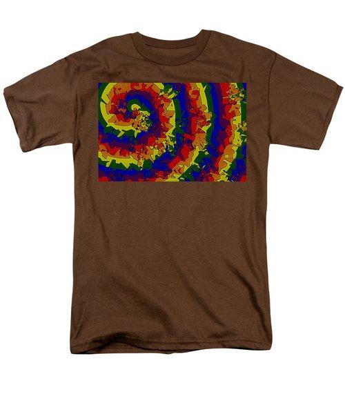 An Un-smooth Roundabout Men's T-Shirt  (Regular Fit) by Bartz Johnson