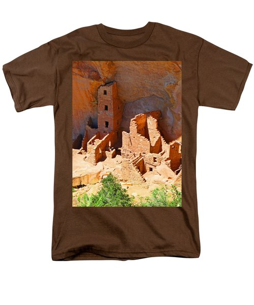 Ancient Dwelling Men's T-Shirt  (Regular Fit) by Alan Socolik