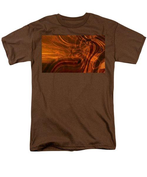 Men's T-Shirt  (Regular Fit) featuring the digital art Ancient by Richard Thomas