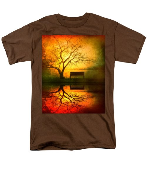 And I Will Wait For You Until The Sun Goes Down Men's T-Shirt  (Regular Fit) by Tara Turner