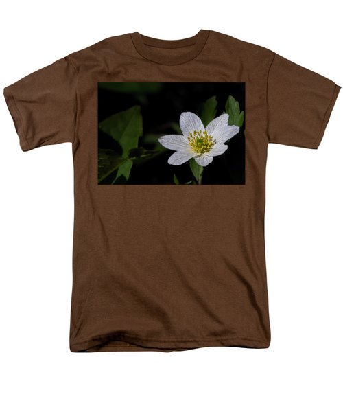 Anemone Nemorosa  By Leif Sohlman Men's T-Shirt  (Regular Fit) by Leif Sohlman
