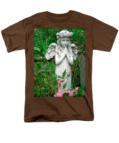 Men's T-Shirt  (Regular Fit) featuring the photograph Angel by Aimee L Maher Photography and Art Visit ALMGallerydotcom