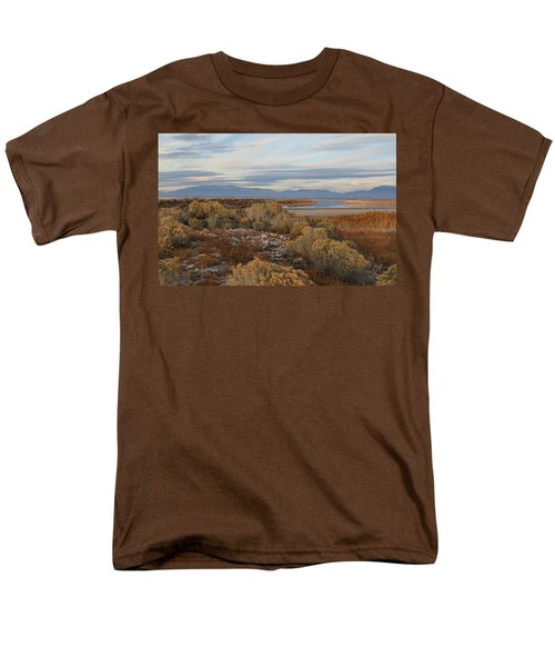 Men's T-Shirt  (Regular Fit) featuring the photograph Antelope Island - Scenic View by Ely Arsha