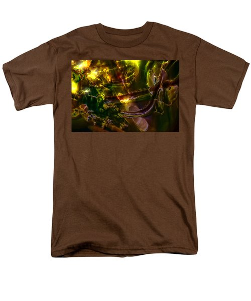 Men's T-Shirt  (Regular Fit) featuring the digital art Apocryphal - Tilting From Beastback by Richard Thomas