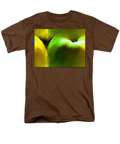 Men's T-Shirt  (Regular Fit) featuring the digital art Apples by Daniel Janda