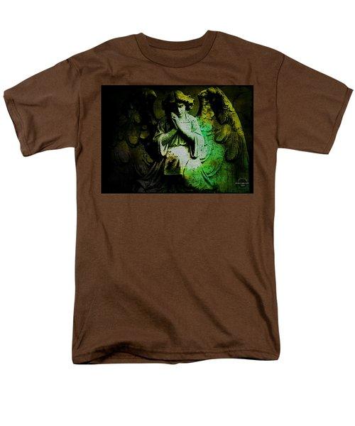 Archangel Uriel Men's T-Shirt  (Regular Fit) by Absinthe Art By Michelle LeAnn Scott