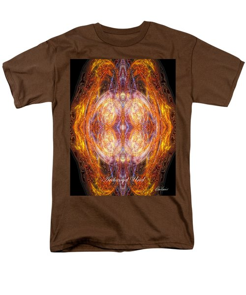 Archangel Uriel Men's T-Shirt  (Regular Fit) by Diana Haronis