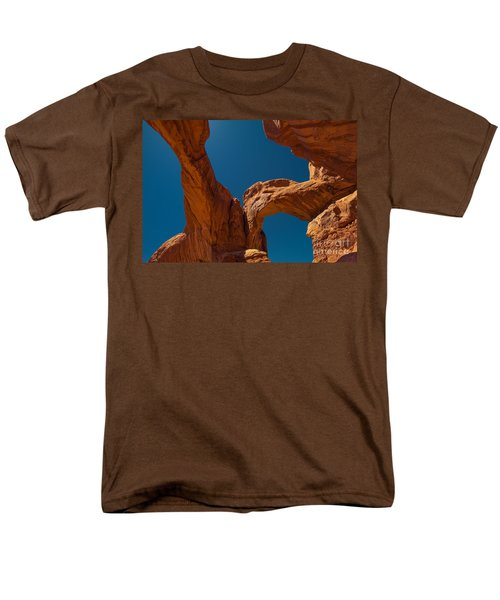 Men's T-Shirt  (Regular Fit) featuring the photograph Arches Np by Juergen Klust