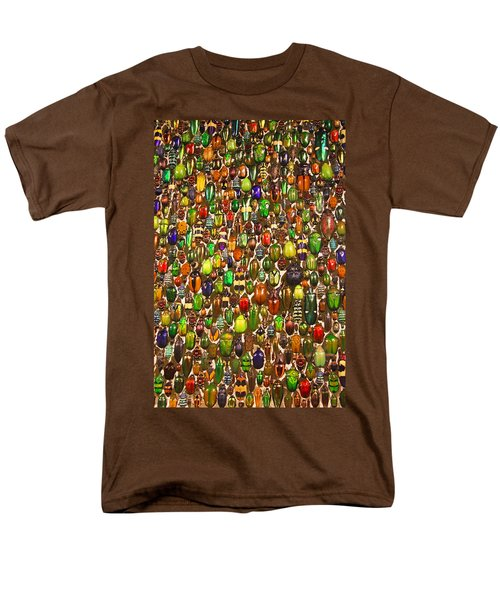Army Of Beetles And Bugs Men's T-Shirt  (Regular Fit) by Brooke T Ryan