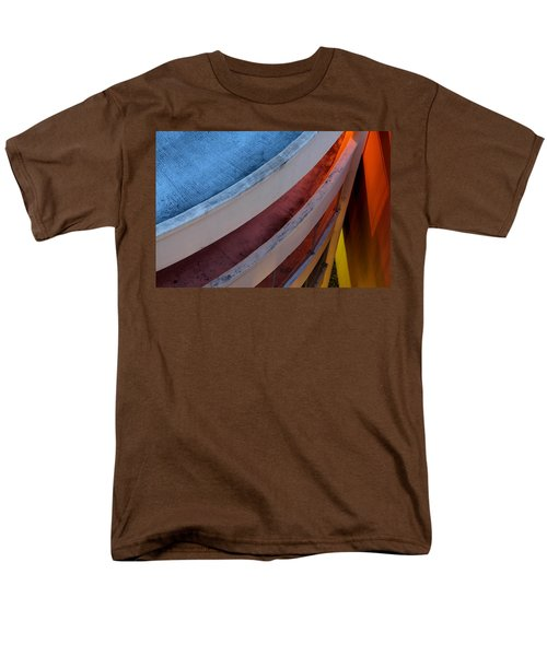 Men's T-Shirt  (Regular Fit) featuring the photograph Around And Down by Greg Allore